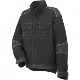 CHELSEA LINED JACKET BLACK/CHARCOAL